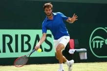 Gilles Simon gives France 1-0 lead over Britain in Davis Cup