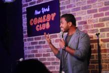 Stand-up comic Abish Mathew being spot-on about Indians visiting America