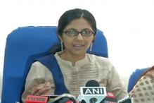 DCW chief's nameplate removed, Maliwal claims L-G office told her not to report to work