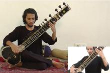 This Indian teen plays an 'Animals as Leaders' song on the sitar and it is brilliant!