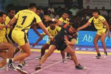 Pro Kabaddi: Telugu Titans Beat Tamil Thalaivas in Opener