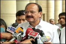 Student suicide: Congress doing 'tamasha' politics, says Venkaiah Naidu