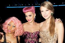 Watch Nicki Minaj, Taylor Swift and Katy Perry in the American music industry's 'Mean Girls'