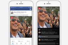 Facebook debuts live video, but only for celebrities for now