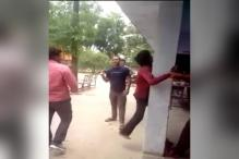 Caught on camera: UP Police thrash man for stealing laptop
