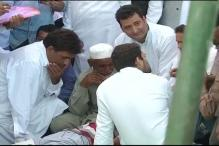 Rahul Gandhi visits village along LoC, says villagers need insurance, bunkers to hide when Pakistan violates ceasefire