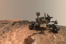 NASA's Curiosity rover takes new low-angle 'selfie on Mars'