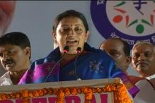 Smriti Irani escapes unhurt in road accident on Yamuna Expressway