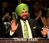 10 witty quotes that Navjot Singh Sidhu used to greet Shah Rukh, Salman Khan and other stars on 'CNWK'