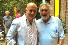 Anupam Kher parties with Robert De Niro and Bradley Cooper