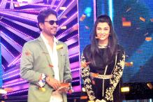 Stargaze: Aishwarya Rai and Irrfan Khan promote 'Jazbaa' on the sets of DID