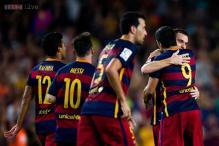 Thomas Vermaelen's goal enough as Barcelona survive scare to edge Malaga
