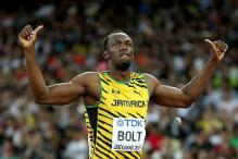 Usain Bolt wins world 100 metres title at World Athletics Championships