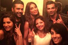 Bipasha Basu hosts a grand party along with friend Rocky S to launch her new designer line