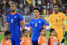 India play a goalless draw against Nepal in football friendly
