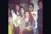 Shilpa Shetty, Huma Qureshi attend Ekta Kapoor's party; Aamir parties with Katrina and Ranbir