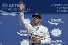 Formula One: Lewis Hamilton takes pole position for Belgian Grand Prix
