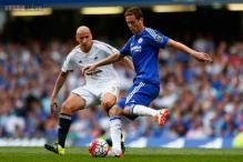 EPL: 10-man Chelsea held on to 2-2 draw against Swansea