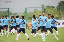 India take on Nepal in international football friendly