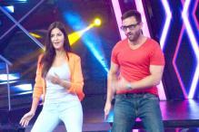 Saif Ali Khan celebrates his birthday with Katrina Kaif, Sonakshi Sinha on the sets of 'Indian Idol Junior'