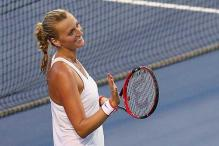 Defending champion Petra Kvitova advances in Connecticut Open