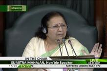 Speaker Sumitra Mahajan fumes over uproar in Lok Sabha, suspends several MPs for causing 'grave disorder'