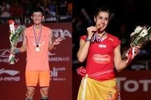 Chen too strong for Lee, Carolina beats Saina at World Badminton Championship final