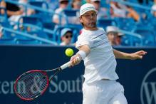 Mardy Fish opens next-to-last tournament with upset of Viktor Troicki