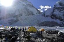 Two Indian children reach Everest base camp in Nepal