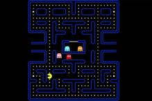 Pac-Man creator Toru Iwatani shows his original drafts for the iconic game