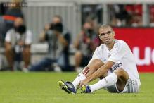 Injured Pepe set to miss Real Madrid's La Liga opener