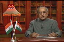 Narendra Modi wishes President Pranab Mukherjee on his birthday