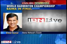 World Badminton Championship: Saina has the desire & passion to excel, says Coach