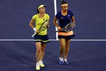 Sania Mirza-Martina Hingis enter Cincinnati Masters' quarters