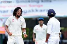 Fired up Ishant Sharma gets into an ugly duel with Dhammika Prasad