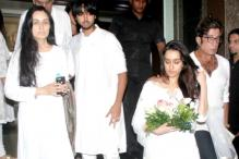 Photos: Tabu, Jaya Bachchan, Boney Kapoor attend Shraddha Kapoor's maternal grandfather's prayer meet