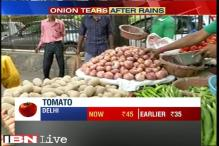 Heavy rains across India increase vegetable prices in Delhi