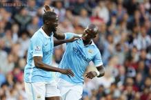 Yaya Toure nets twice as Manchester City beat West Bromwich Albion 3-0