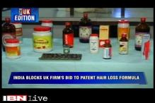 UK edition: India blocks UK firm's bid to patent hair loss formula