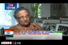 UK edition: Punjabi writer Kailash Puri recalls partition horror