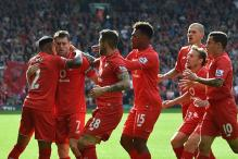 Liverpool ease pressure on Rodgers with 3-2 win over Aston Villa