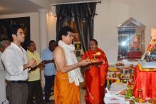 Ganesh Chaturthi: Jeetendra, Kainaat Arora, Madhur Bhandarkar seek Ganpati's blessings