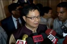 Terrorism the main issue for India, says Kiren Rijiju