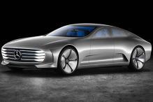 Mercedes shows off futuristic Concept IAA