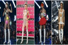 VMA 2015: 9 outrageous, revealing outfits of Miley Cyrus that will make you gasp