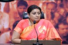 Women not dictated in India, says Smriti Irani, draws dissenting notes