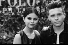 Brooklyn Beckham cuddles up with Selena Gomez at The Polo Ralph Lauren Show