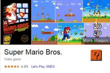 Google for 'Super Mario Bros,' there's an Easter Egg waiting