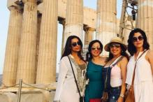 Malaika Arora Khan holidays with friends in Greece, shares photos on Instagram