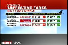 PM Modi expresses concerns over high airfares during festivals